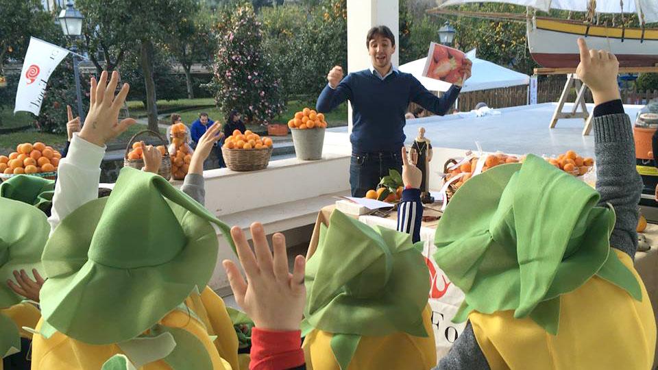 Arance e bambini - Nutrizionista a Sorrento